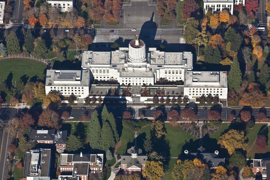 Salem Vertical Aerial Photography